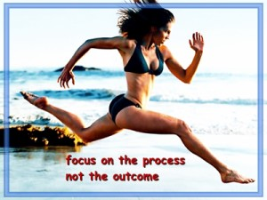focus on the process
