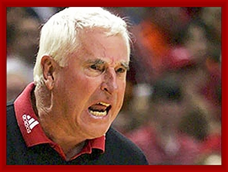 Be cool or be an angry fool - Bobby Knight