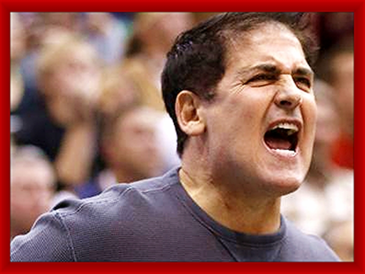 Be cool or be the angry fool - Mark Cuban