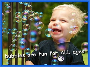 You can't go wrong with some bubble summer fun.