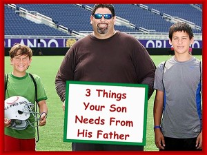 Your son needs these things from his father