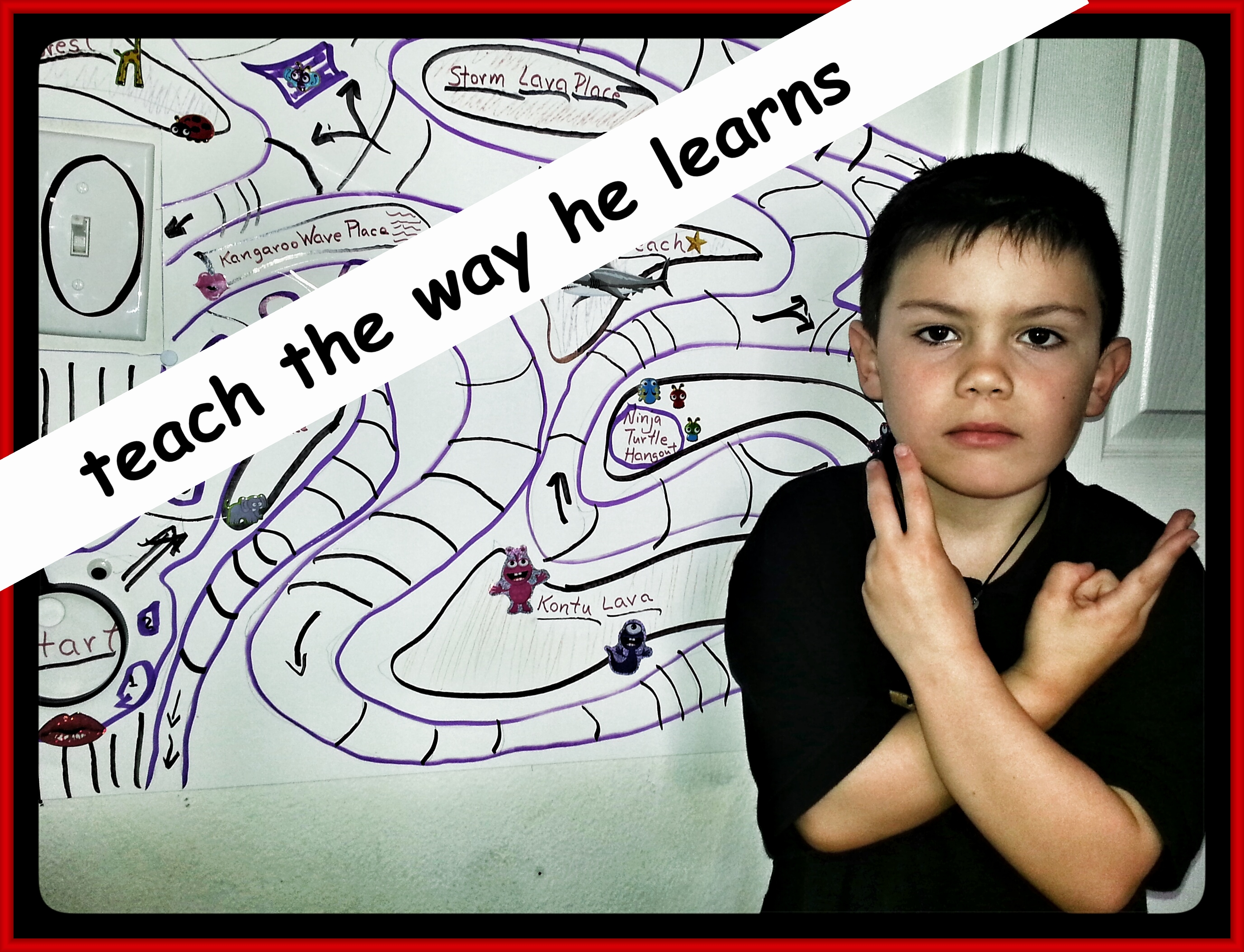 Teach the way he learns - Daniel