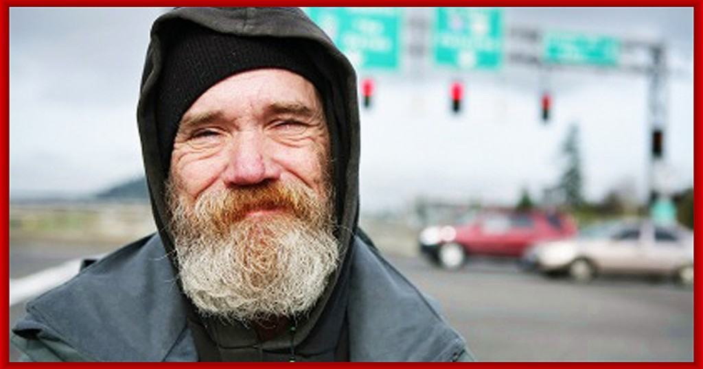 help to create a smile for a homeless person